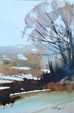 Art Of Watercolor: October Random and Skillful