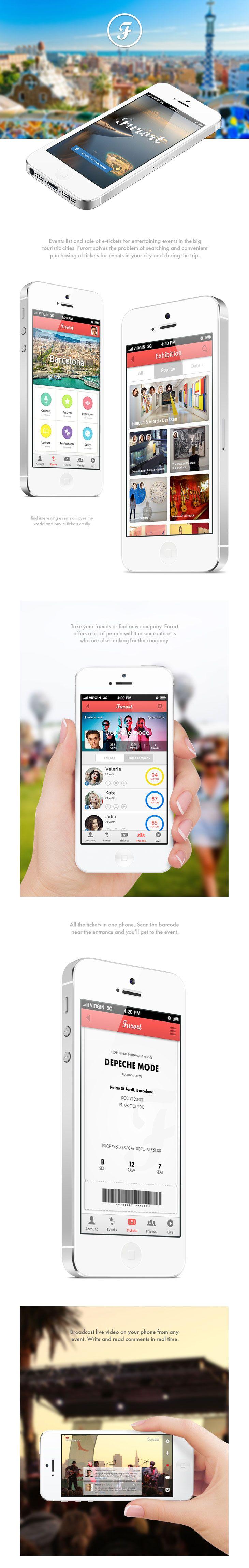 Furort #App #design