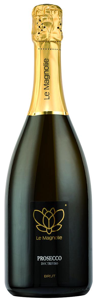 Prosecco DOC - Le Magnolie #prosecco #winelabel #winedesign #italianwine #Francescon #Collodi #F&C