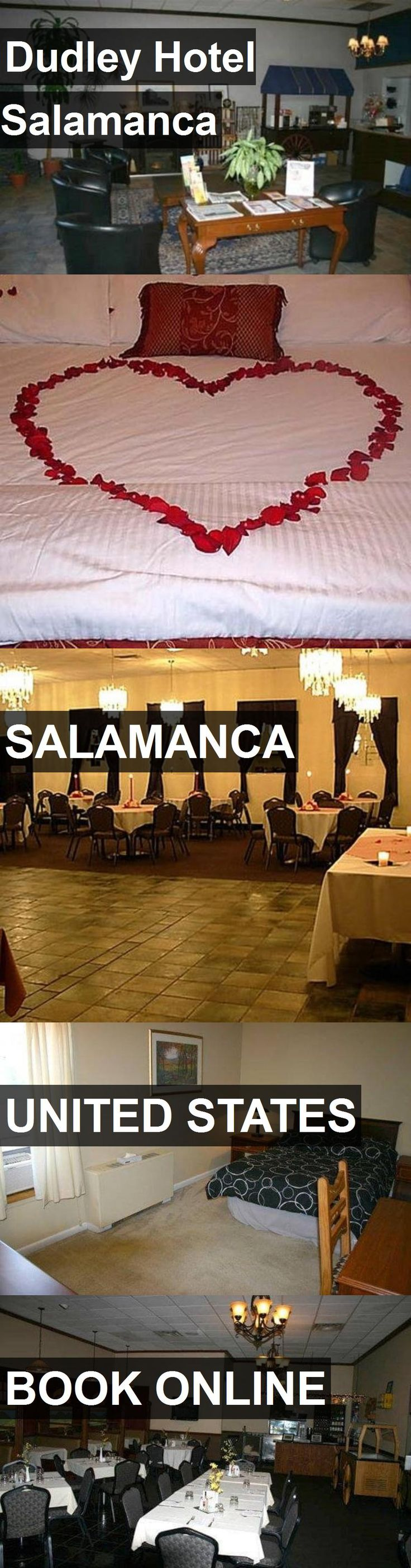 Hotel Dudley Hotel Salamanca in Salamanca, United States. For more information, photos, reviews and best prices please follow the link. #UnitedStates #Salamanca #hotel #travel #vacation