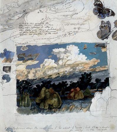 Works on Paper - John Walter Wolseley - Australian Art Auction Records