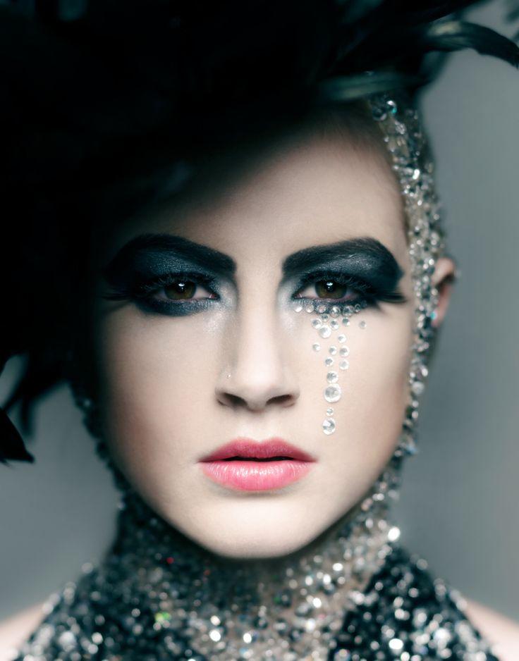 Diamond Tears  Wasp Lashes  designed by Sharryn Sinclair