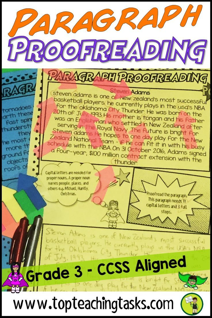 hight resolution of Punctuation Proofreading Practice Activity Worksheets   Explanation  writing