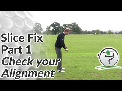 Slice Shots - How to Stop Slicing Golf Balls Right of the Target