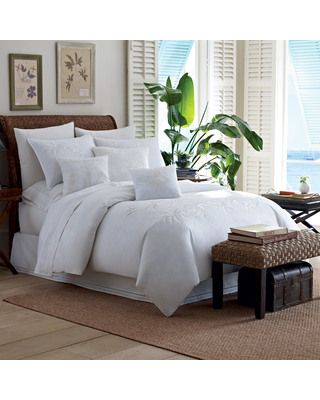 Tommy Bahama Tommy Bahama Tropical Hideaway Comforters and Duvets from Bedding Style | BHG.com Shop