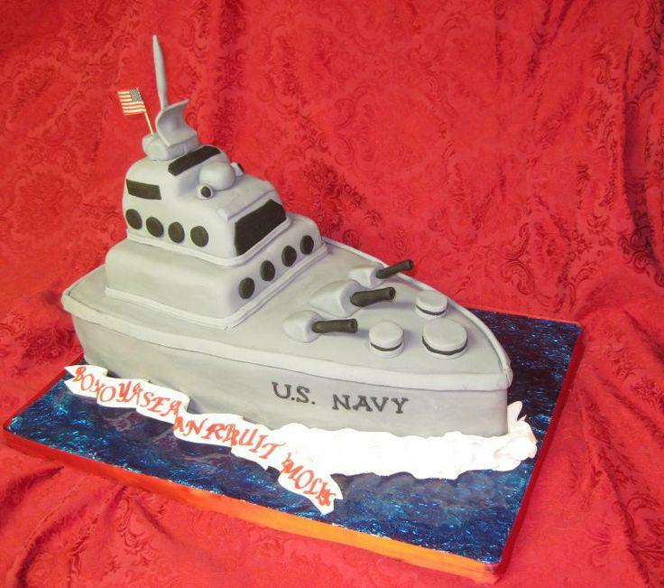 Navy Ship Wedding Ideas Pinterest Navy Ships Cake