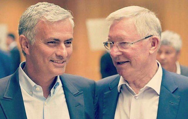 José Mourhino & Sir Alex Ferguson, Manchester United (UEFA Elite Coaches Forum)
