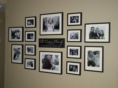 Photo Wall Collage Tmf Photo Display Pinterest Wall Collage