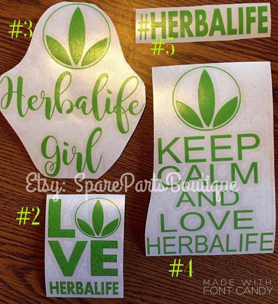 Herbalife Decals Logo Car Sticker FREE by SparePartsBoutique