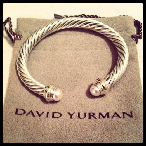 17 best images about jewellery on pinterest boucle d for David yurman like bracelets