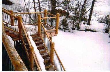 Best 14 Best Deck Railings Images On Pinterest Rustic Wood 640 x 480
