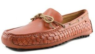 Cole Haan Grant Camp .moc. Woven Men Round Toe Synthetic Tan Loafer.
