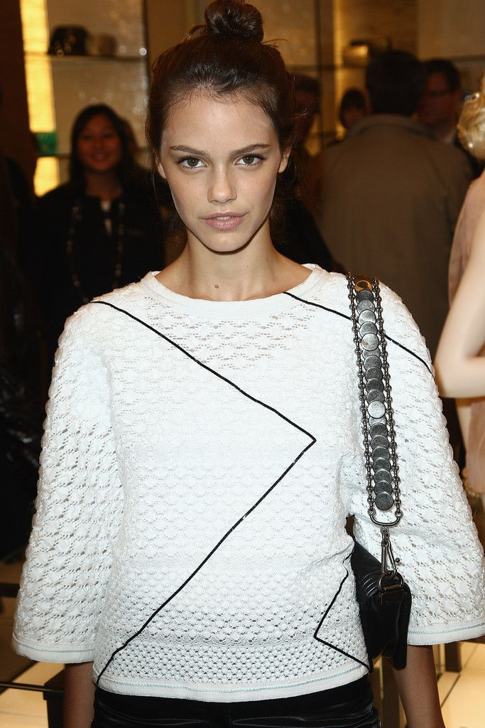 Laura Neiva attends the Chanel Boutique Inauguration as part of Paris Fashion Week on March 6, 2012 in Paris, France.