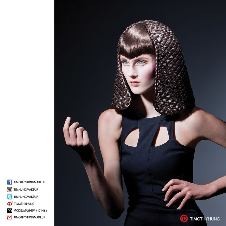 Makeup by Timothy Hung. Hair by Loretta Tom @ Salon Haze. Photography by Patryk Widejko. Model Stephanie @ Lizbell Agency.
