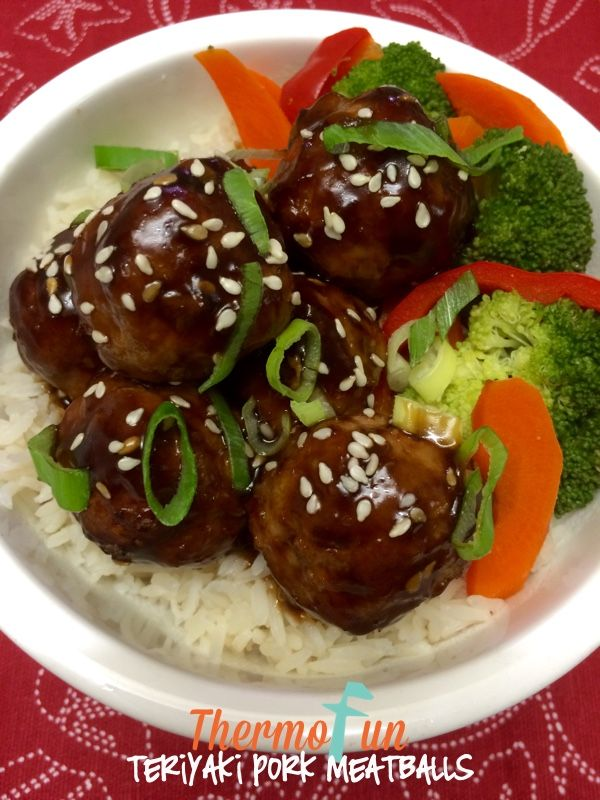 This teriyaki sauce is fabulous with your favourite choice of meat, vegetables and or rice. Therecipe for Teriyaki Pork Meatballs was given to ThermoFun 2015 Club Members week 7. For this recipe and more decadent recipes delivered to your inbox every Monday make sure you become aThermoFun Club Member. Uses for Teriyaki Sauce: Marinate and …