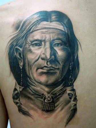 indian. man. tattoo