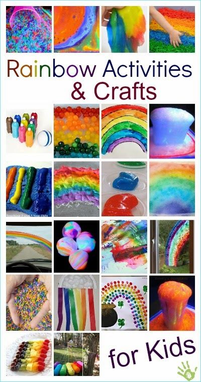 Rainbow Activities & Crafts for Kids