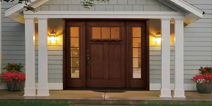 Fiberglass Front Doors for Ranch Style Homes