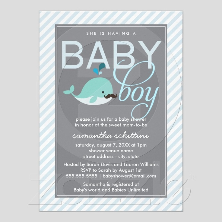 60 best Baby Boy Shower Invitations images on Pinterest Baby boy - email baby shower invitation templates
