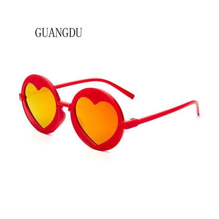 Heißer verkauf runde sonnenbrille frauen 2018 kinder sonnenbrille für mädc …