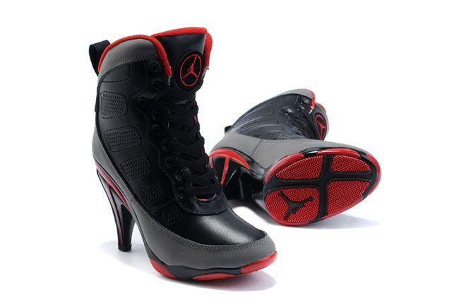 Jordan High Heels, Nike Air Jordans, Jordan Shoe Heels, Nike Jordan Heels,
