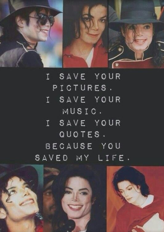 No one has ever come close to how I feel about Michael, and I don't think anyone ever will. I love you Michael with all my heart.