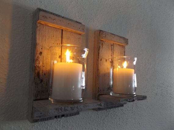 wood candle sconce white candle sconce candle wall sconce rustic wall sconce rustic candle sconce shabby chic sconce candle holder