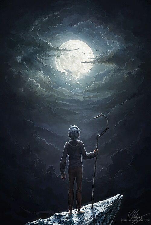 """""""First thing I remember is darkness."""" E eu pensei que nunca mais me apaixonaria por um personagem de desenho animado! Jack Frost <3"""