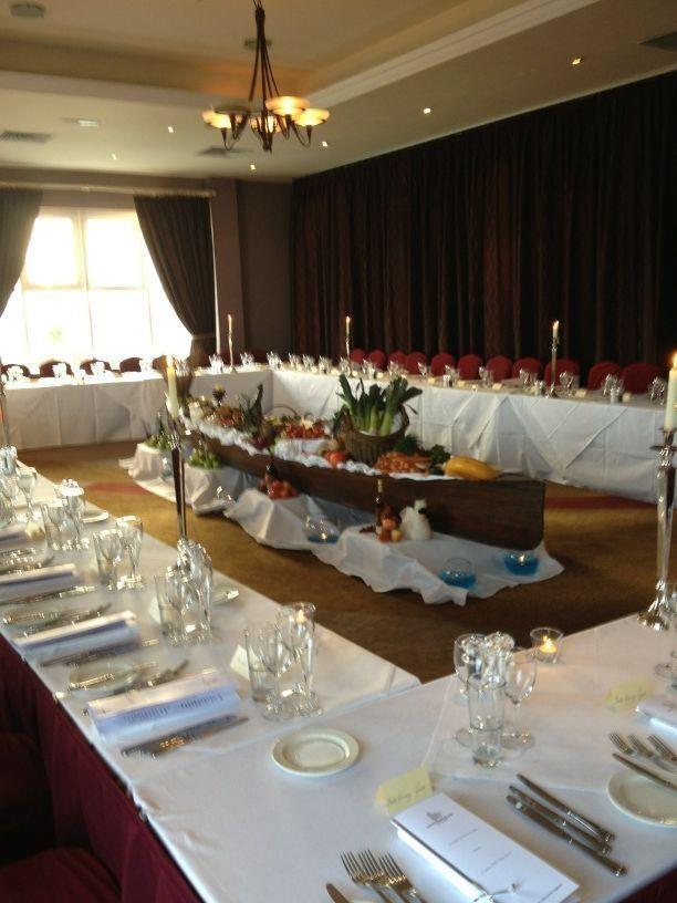 Inchydoney Suite @ Inchydoney Island Lodge & Spa, set up for Food & Wine Magazine Night