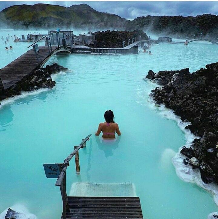 I want to go there. Blue lagoon, Iceland