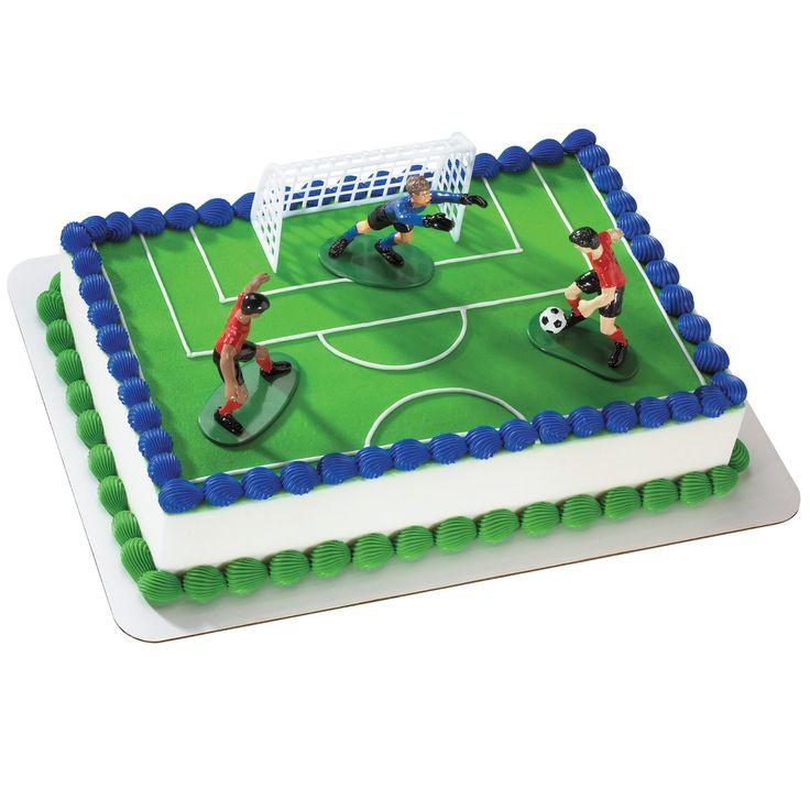 Soccer Kick Cake