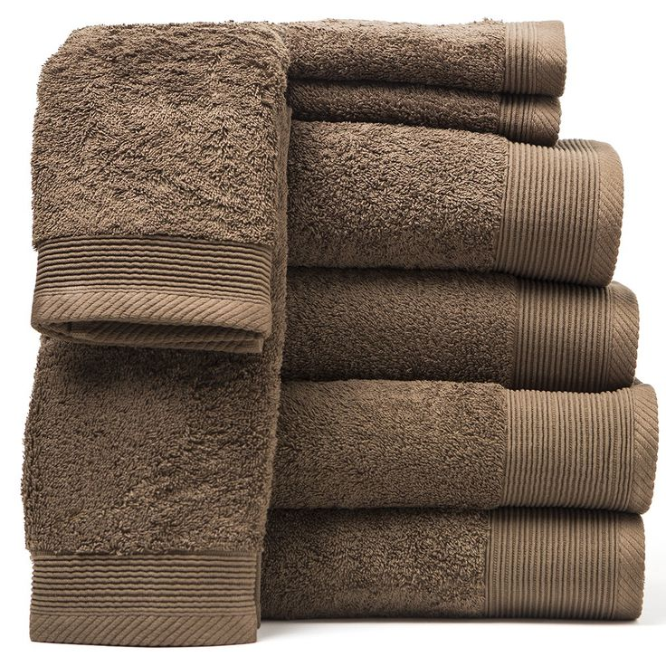 GRAND PLUSH 600 GSM Towels (Coyote Brown)