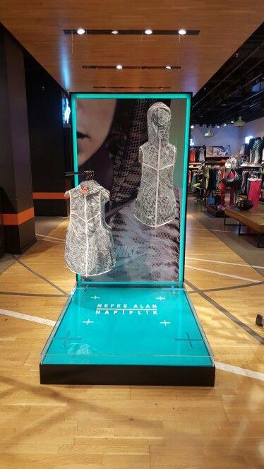Nike Retail Interior /Tech Pack Hyperfuse 2015 /Nike Beyoglu /Dusmekan