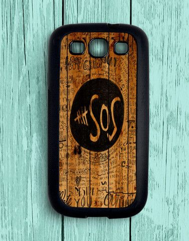 5 Second Of Summer Fans Quotes On Wood Samsung Galaxy S3 | Samsung S3 Case