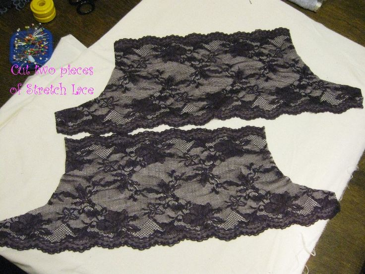 Fancy Pants aka Stretch Lace Panties - sew-whats-new.com