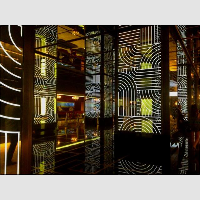 Lobby at The Cosmopolitan Hotel in Las Vegas