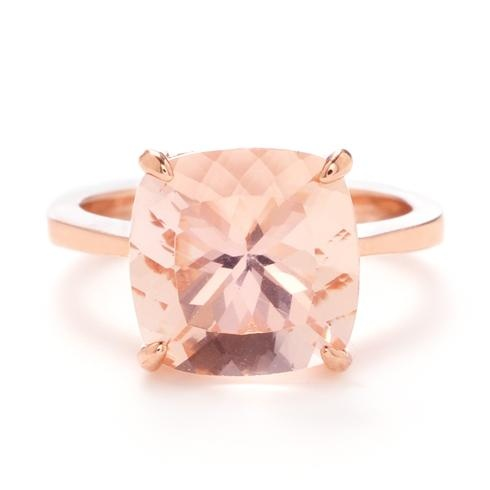 Greenwich Jewelers | Products | Category | Rings | Gold | Greenwich Collection Morganite Ring in Rose Gold