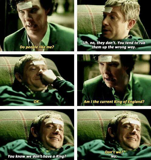 Haha, drunk Sherlock and John are so great. :D