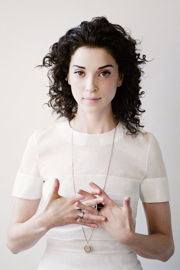 Annie Clark (St Vincent), aka haver-of-dream-hair