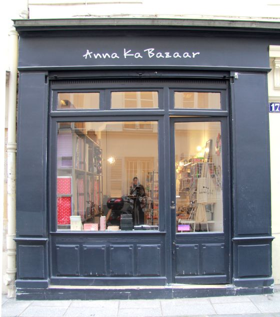 Anna ka bazaar - if I ever go to Paris, I must visit this fabric store.