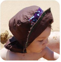 Simple Baby Sun Hat Pattern for Sewing