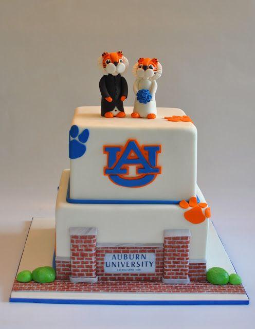 Auburn University Grooms Cake