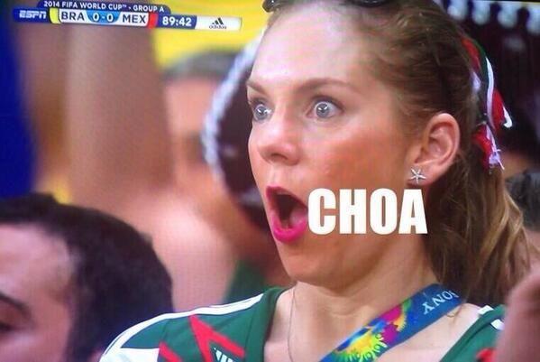 Memes de México vs Brasil -