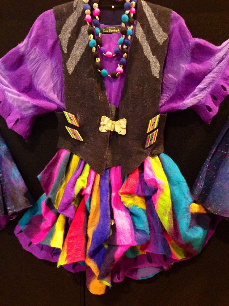 Felting - a whole outfit!