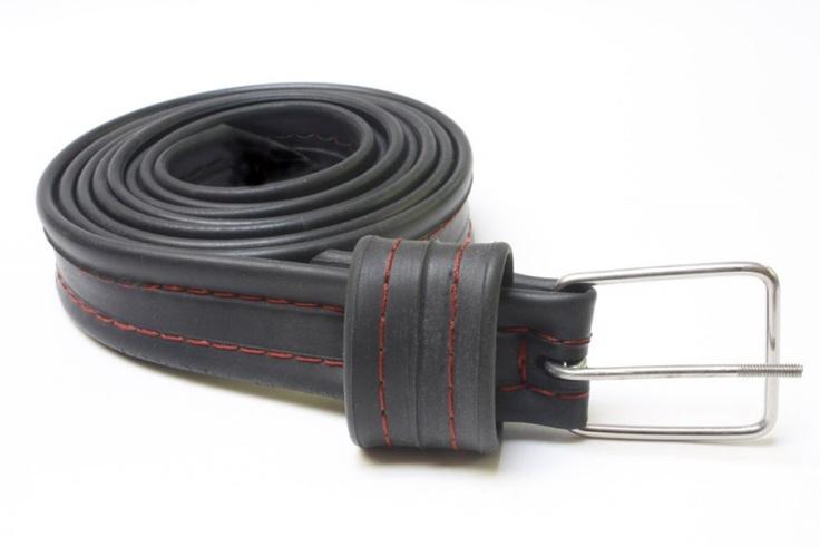 Bike Tyre and Tube Belts - Bennys Bike Tube Belt - Ivy & Em Upcycling Workshop