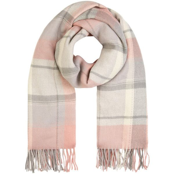 Accessorize Soft Sloane Check Blanket Scarf ($37) ❤ liked on Polyvore featuring accessories, scarves, checkered scarves, accessorize scarves, blanket scarf, wrap shawl and tassel scarves