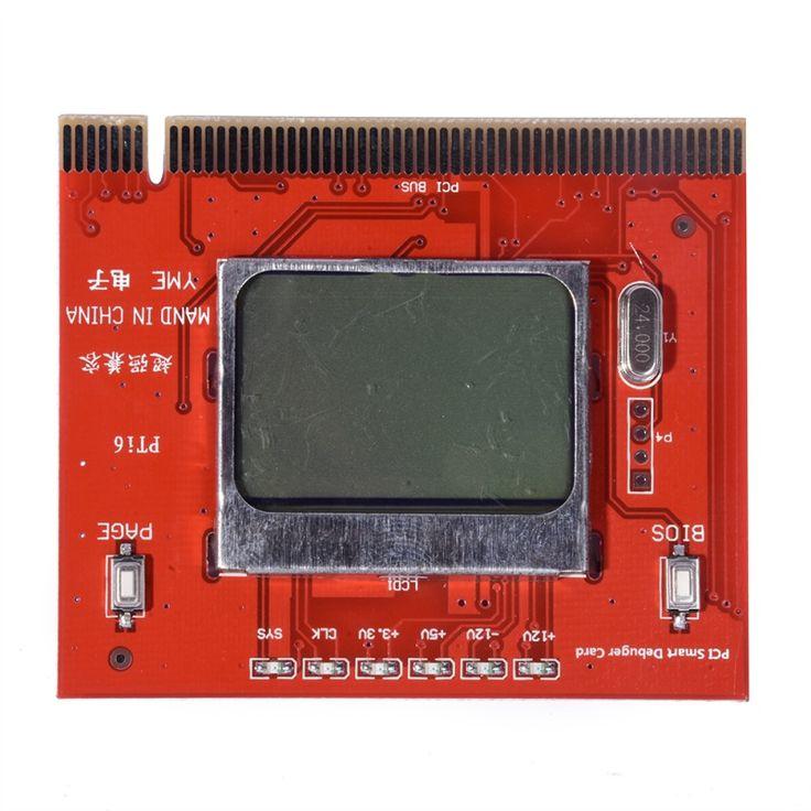 ה-BIOS מעבד זיכרון RAM המבחן PCI מחשב מחשב מנתח בודק אבחון כרטיס תצוגת LCD