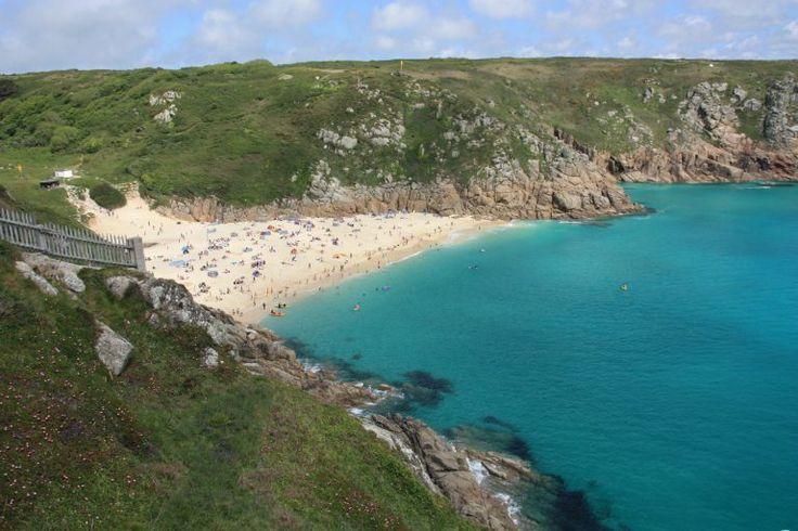 Porthcurno, die schönsten Aussichtspunkte in Cornwall