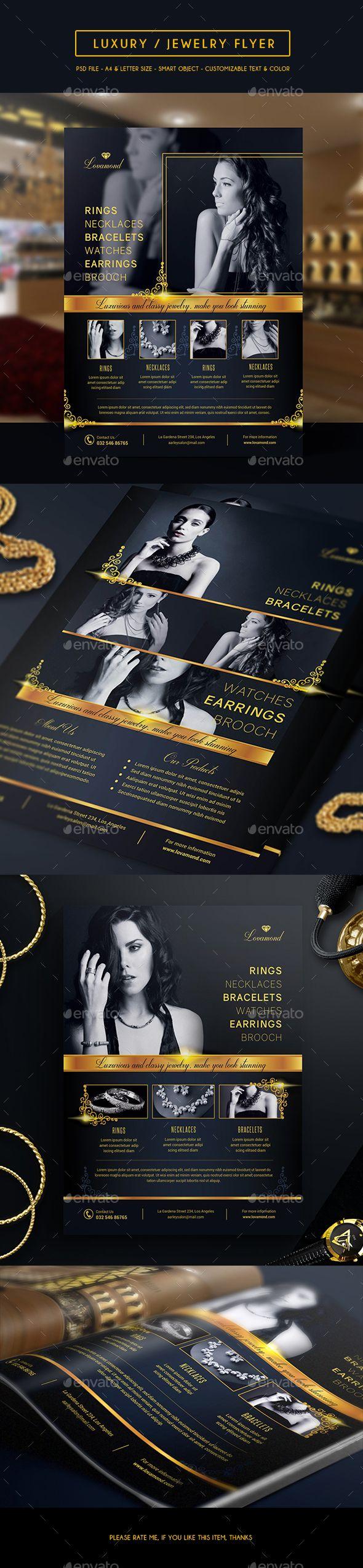 Luxury/Jewelry Store Flyer