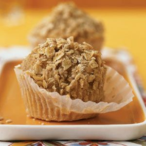 with Oatmeal Streusel | Recipe | Low fat muffins, Banana oatmeal ...